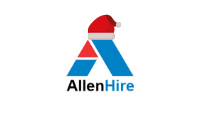 AllenHire Christmas Logo